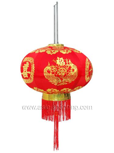 lampion chinois et prospérité