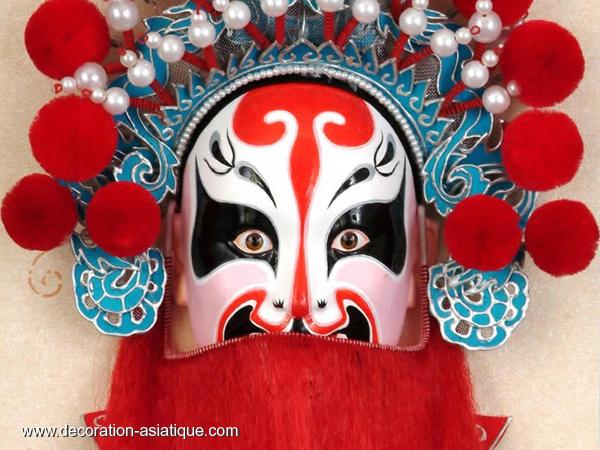 Un masque chinois de l'Opéra