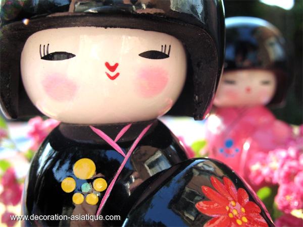 Les poupées japonaises Kokeshi