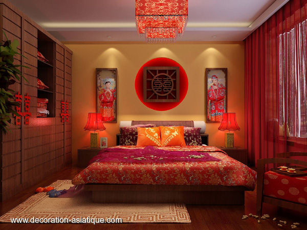 am nagement chambre asiatique. Black Bedroom Furniture Sets. Home Design Ideas