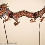 photos les marionnettes chinoises du théâtre d'ombre