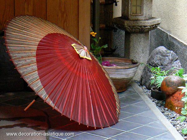 Une ombrelle japonaise Wagasa