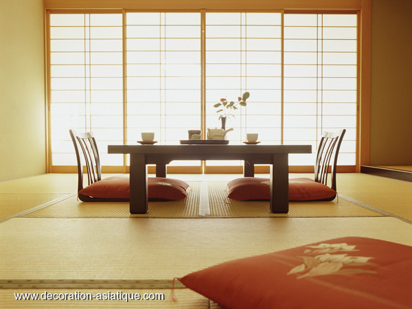 un am nagement d int rieur japonais. Black Bedroom Furniture Sets. Home Design Ideas